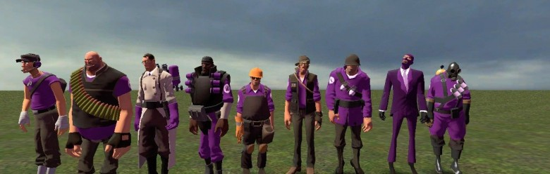 Tf2 hexed purple team For Garry's Mod Image 1