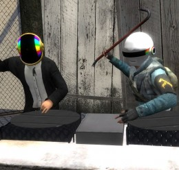 WEARABLE Daft Punk Helmets For Garry's Mod Image 2