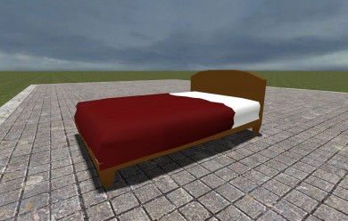 bed.zip For Garry's Mod Image 1