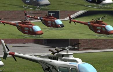 Bell Ranger Chopper For Garry's Mod Image 1