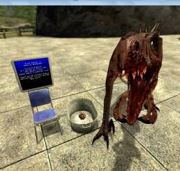 Drunk Raptor For Garry's Mod Image 2