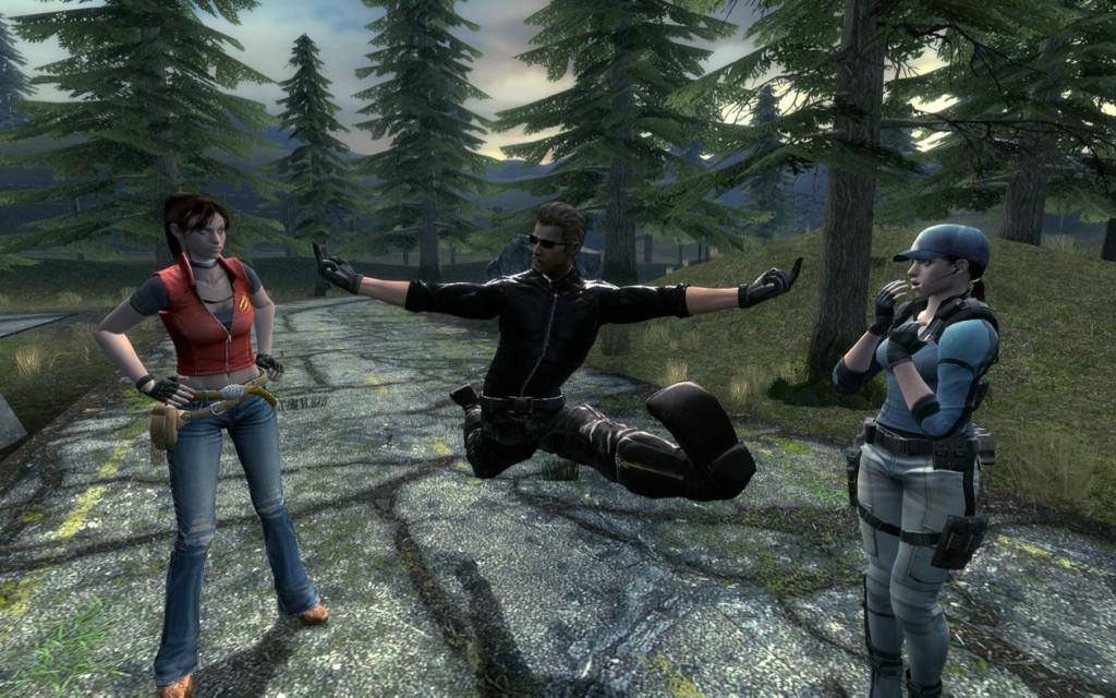 Wesker Resident Evil 5 | garrysmods org