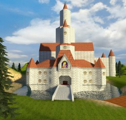 "Peach's Castle ""Realistic-ish"" For Garry's Mod Image 1"