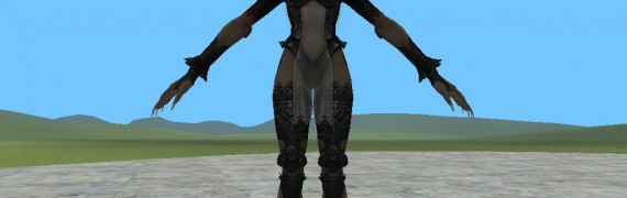 Final Fantasy XII-Fran Model