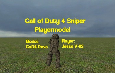 CoD4 Sniper Player For Garry's Mod Image 2