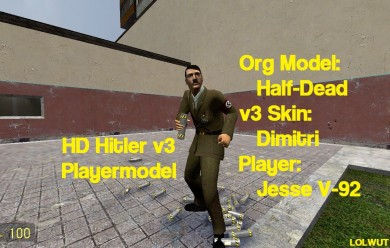 Hitler Player For Garry's Mod Image 1
