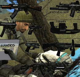 Rebel handed Weapons For Garry's Mod Image 1