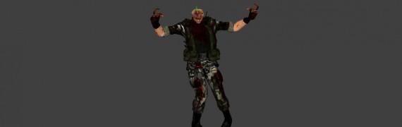 Black Mesa HECU grunt zombie h