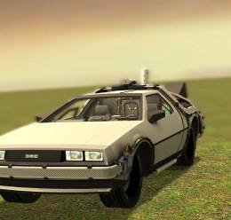 Delorean SCar For Garry's Mod Image 1