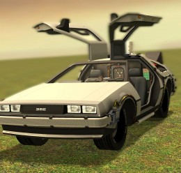 Delorean SCar For Garry's Mod Image 2