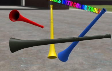 Vuvuzela Horn For Garry's Mod Image 1