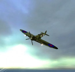 WWII Spitfire Fighter Adv Dupe For Garry's Mod Image 1