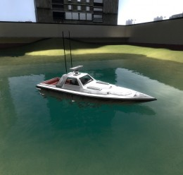 driveable_gta_vice_city_boat!. For Garry's Mod Image 3