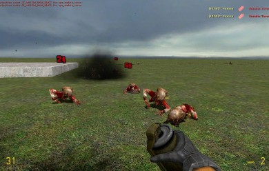 Floating Combat Text For Garry's Mod Image 1