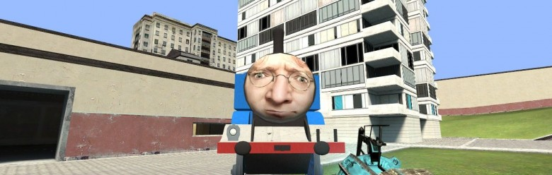 GabeN The Tank Engine - No Ep3 For Garry's Mod Image 1