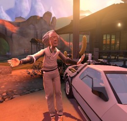 Back to the Future Models For Garry's Mod Image 3