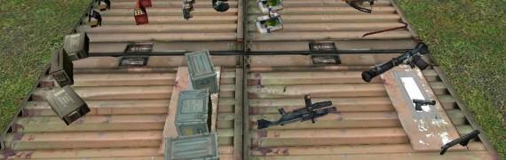 Half Life 2 Weapons/Ammo