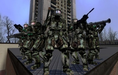 Halo Combine Soldiers.zip For Garry's Mod Image 1