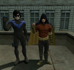 Robin and Night Wing For Garry's Mod Image 1