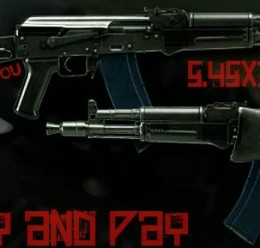 AK-105 RP Swep For Garry's Mod Image 1
