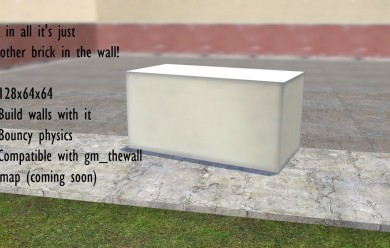 The Wall - Live In GMod: Brick For Garry's Mod Image 1