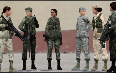 Female National Guard.zip For Garry's Mod Image 2