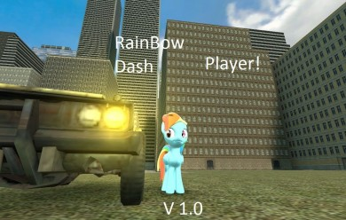 Rainbowdash player! For Garry's Mod Image 1