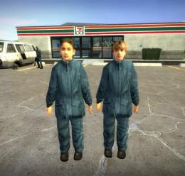 HL2 Blue Suit Kids v2 For Garry's Mod Image 1