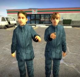 HL2 Blue Suit Kids v2 For Garry's Mod Image 2