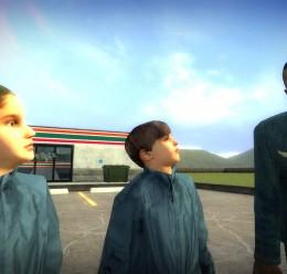 HL2 Blue Suit Kids v2 For Garry's Mod Image 3