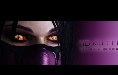 MK9: Mileena NPC/PM For Garry's Mod Image 1