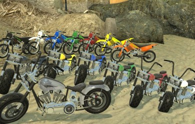 Ace's Fully posable Gta4 Bikes For Garry's Mod Image 2