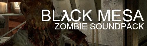 Black Mesa Zombie Soundpack