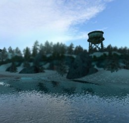 Gm_Urbia Snowy Large Map For Garry's Mod Image 1