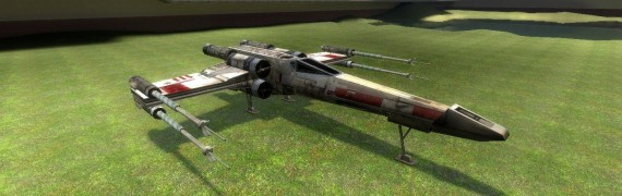 Flyable X-wing