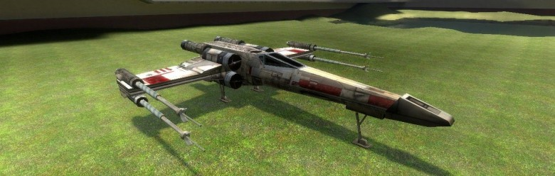 Flyable X-wing For Garry's Mod Image 1