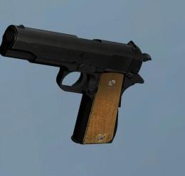 Colt M1911A1 - HL2 Pistol skin For Garry's Mod Image 1