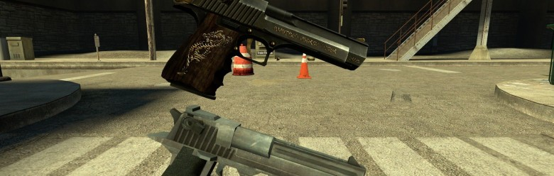 css_auric_dragon_deagle_hexed. For Garry's Mod Image 1