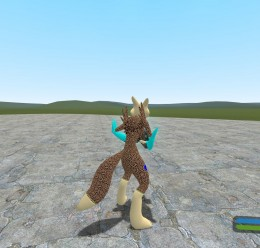 renamon_leopard_skin_and_tiger For Garry's Mod Image 3