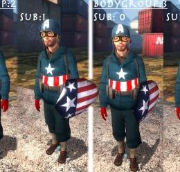 Captain America Pack For Garry's Mod Image 3