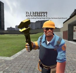 golden_wrench.zip For Garry's Mod Image 1