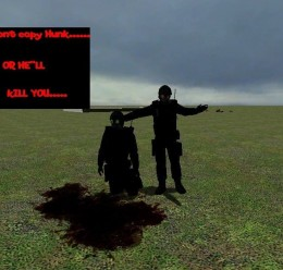 re4_hunk_homemade.zip For Garry's Mod Image 2