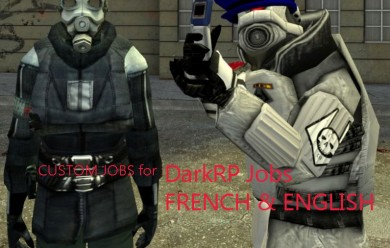 Darkrp Job FR & English ! For Garry's Mod Image 1