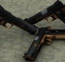 Golden Pistols Pack For Garry's Mod Image 1