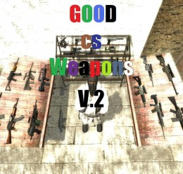 Good Css Weapons V.2 For Garry's Mod Image 1