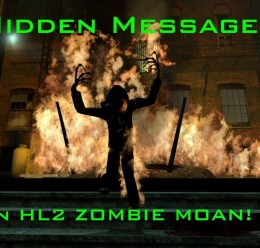 Hidden Messages in Zombie Moan For Garry's Mod Image 1