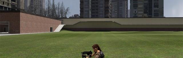 Lara Croft playermodel [FIX] For Garry's Mod Image 1