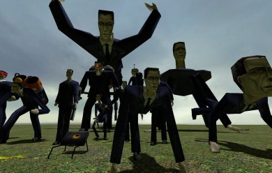 g-man_invasion_snpc_pack.zip For Garry's Mod Image 2
