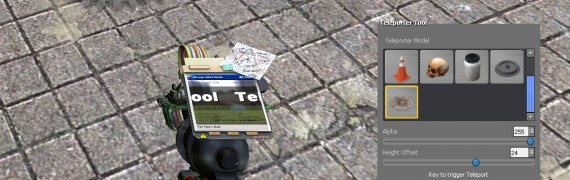 Teleporter STool (Numpad) 1.2