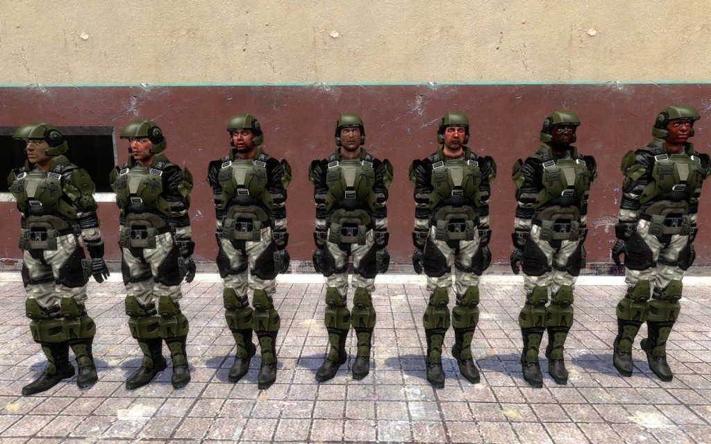 Halo 3 Marines 1 1 by Srgt  Shotup | garrysmods org